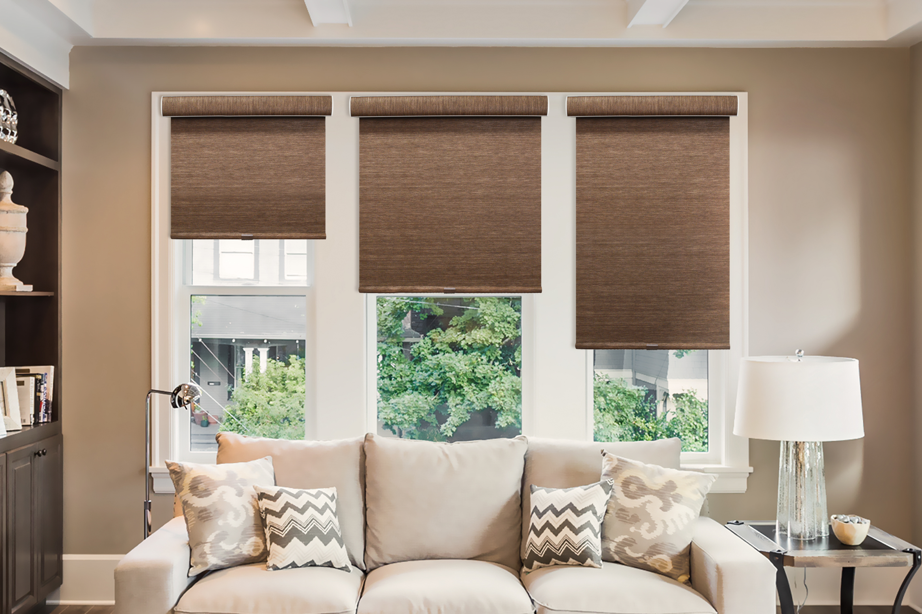 Outside In How To Mount Roller Shades To Achieve